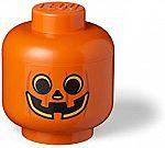 Lego Storage Head Large Pumpkin $19.78, mini Girl $15