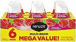 6-Count 7-oz Renuzit Adjustable Air Freshener Gel (Forever Raspberry) $3.77