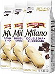 3-Pack 7.5-oz Pepperidge Farm Milano Cookies (Double Dark Chocolate) $6.75