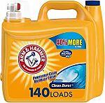 210-oz. Arm & Hammer Clean Burst Liquid Laundry Detergent $7.65