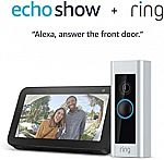 Ring Video Doorbell Pro with Echo Show 5 (Certified Refurbished) $109.99