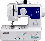 Luby Sewing Machine for Beginners with 12 Stitches & Free Arm @Woot
