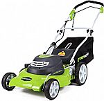 Greenworks 20-Inch 3-in-1 Electric Corded Lawn Mower $99.99 (orig. $230)