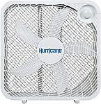 "Hurricane Box Fan - 20 Inch $19, 6"" Clip Fan $17 and more"