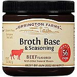 12oz Orrington Farms Beef Flavored Broth Base & Seasoning $3