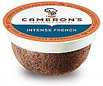 Cameron's Coffee Single Serve Pods, Intense French, 12 Count $4 and more