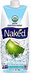 12-pack 16.9 ounce Naked Juice 100% Organic Pure Coconut Water $21.60