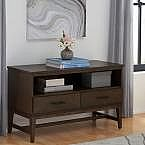 "Home Decorators Collection 42"" W Bellamy 2-Drawer Media Stand $135 and more"