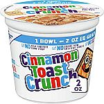 12 Cups Cinnamon Toast Crunch Cereal Cup (2 oz) $9