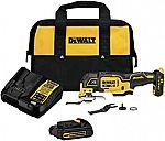 DEWALT 20V XR Cordless Oscillating Multi-Tool $99 (40% Off)