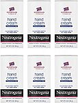 6-Pk 2-oz Neutrogena Norwegian Formula Moisturizing Hand Cream $11.75