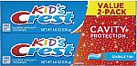 2-Count Crest Kid's Cavity Protection Toothpaste $2.63