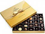 36-Ct Godiva Chocolatier Chocolate Gold Gift Box $37