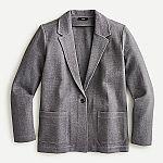 J.Crew Women's Knit Ponte Blazer $25 & more