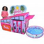 Barbie Dreamhouse Pop Up Tent, Over 7 Feet Long, Includes Ball Pit and Balls $30