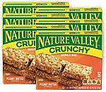36-Count  Nature Valley Granola Bars, Crunchy, Peanut Butter $10