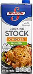12-Count Swanson Unsalted Chicken Stock $20.90