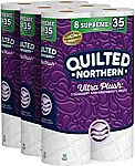 24-Ct Quilted Northern Ultra Plush Toilet Paper (Supreme Rolls) $19.32