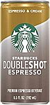 12-Pack Starbucks Doubleshot, Espresso + Cream $15