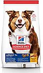 15 lbs Hill's Science Diet Adult 7+ Dry Dog Food $10.74