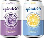 48-Pack Spindrift Sparkling Water (Blackberry & Lemon) $15.65