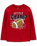Carters - Football Jersey Tee $3.35 (78% Off)