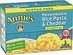 5-pack Annie's Gluten Free Rice Pasta & Cheddar Macaroni & Cheese $3.30