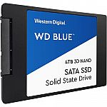 "4TB WD Blue 3D NAND 2.5"" Solid State Drive $335.99"