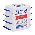 320-Count Bactive Disinfectant Wipes $2.98