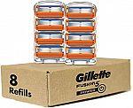 8-Ct Gillette Fusion Power Men's Razor Blades Refills $15.92