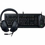 Razer Power Up Bundle – Cynosa Lite, Viper, and Kraken X Lite $69