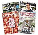 Magazine Sale: The Family Handyman, Reader's Digest, Better Homes and Gardens  [4 months auto-renewal] $0.99 (and more)