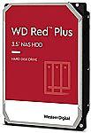 """Western Digital 14TB WD Red Plus NAS Internal Hard Drive HDD 3.5"""" - WD140EFGX $350"""