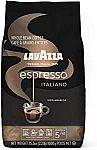 2.2-lb Lavazza Espresso Italiano Whole Bean Coffee Blend $10.50 and more