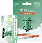 3-Month Mint Mobile 10GB 5G / 4G LTE Prepaid SIM Card Kit $30