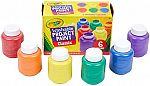 Crayola Washable Kids Paint, 6 Count $5.86