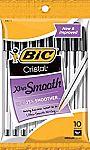 120-Ct BIC Cristal Xtra Smooth Ballpoint Pen $6.59