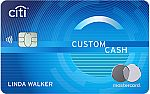 Citi Custom Cash℠ Card - Earn $200 in cash back after Purchase, No Annual Fee