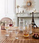 Longchamp / Martha Stewart Glassware  - 12-Pc. Red or White Wine Glasses Set $10 & More