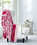 """Juicy Couture Plush Throw Blanket (50x70"""") $12 and more"""