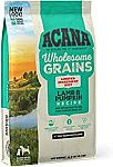 ACANA Wholesome Grains Lamb & Pumpkin Dry Dog Food, 22.5 lbs $28.83