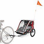 Allen Sports Deluxe Steel 2-Child Bicycle Trailer $99