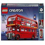 Lego Creator Expert: London Bus (10258) $105, James Bond Aston Martin DB5 Model $130
