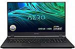 "GIGABYTE AERO 17 HDR XD 17.3"" UHD 4k Creator Laptop (RTX 3070 i7-11800H 16GB 1TB SSD XD-73US524SP) $2499"