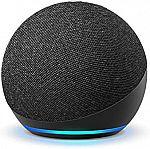 Amazon All-new Echo Dot (4th Gen) Smart speaker (2 for $50)