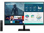 """SAMSUNG 32M70A 32"""" UHD USB-C Smart Monitor with Streaming TV $249.99"""