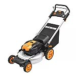 """WORX WG774 56V 20"""" Cordless Electric Lawn Mower with 2 Batteries $297 and more"""