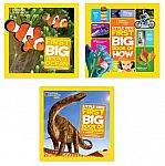 National Geographic Little Kids First Big Hardcover Books: How, The Ocean, Dinosaurs (3 for $17.30) and more