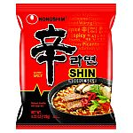 20-Pack NongShim Shin Ramyun Noodle Soup $16.66