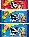 3-Pack CHIPS AHOY! Chocolate Chip Cookies & Chewy Cookies Bundle $8.03